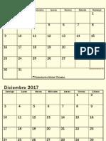Diseñando Agenda 2017