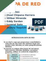 CAPA DE RED GRUPO  5
