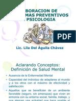 Diseño de Programas Preventivos en Psicología