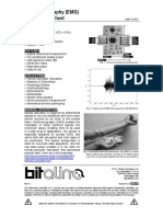 Electromyography(EMG) Sensor Data Sheet