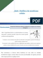 Aula 4 - Bioeletricidade