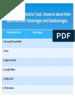 Below is a Presentation Tools.pptx