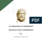Quien es Parmenides