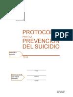 Protocolo de Prevención de Suicidio 16-2-2016