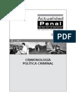 Criminologia Actualidad Penal