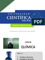 Tema 11 Cinetica Quimica - Equilibrio Quimico