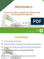 4.Análisis de Masa y Energía de Volumenes de Control (Sistemas Abiertos)