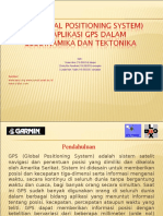 GPS (Global Positioning System) Dan Aplikasi