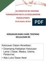 8. Presentasi Direktur Tentang Pmkp Dan Mdgs Dr Sutoto