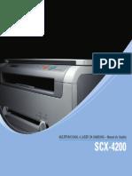 scx4200c onfiguração