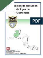 Evaluación de Recursos de Agua de Guatemala