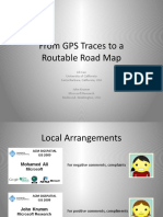 From Gps Traces to a Routable Road Map Acm-gis