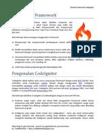 tutorial framework ci by saefulloh rifai.docx