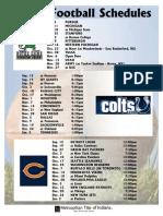 Football Schedule 2010