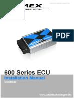 600 ECU Installation Manual 2v01