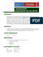 Workshop Spring Framework