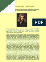 Isaac Newton y La Alquimia