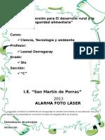 Experimento - Foto Laser