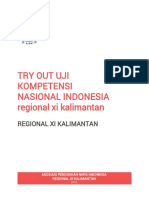 Try Out Ukom Ners Kalimantan