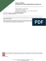 Revista Mexicana de Sociología Volume 21 Issue 3 1959 Luis Pinto Ferreira -- Síntesis de La Contribución de Emile Durkheim a La Sociología
