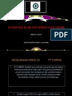 Efektifitas p2k3 Dalam Smk3