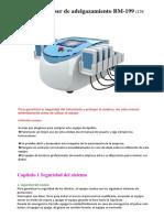 Portable Lipo Laser BM199 (S)