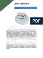 Spanish Manual--Bestview 3 Functional Microdermoabrasion