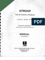 Golden, C. (2001). Stroop test de colores y palabras (3Ed).pdf
