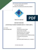 Retroviruses and Human Immunodeficiency Virus (HIV)