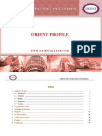 Orient Trading & Contracting Profile