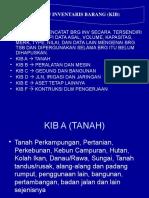 Format Kartu Inventaris Barang (KIB)