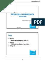 ESTRUCTURA Y CONFIGURACIÓN DE UN PLC