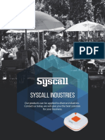 Syscall Product Manual