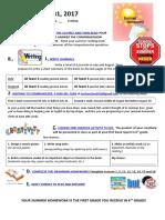 gr5y sem2 2017 summer homework guidelines