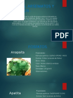 Fosfatos Arseniatos y Vanadatos