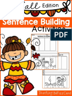 Free Sentence Building Fall Edition