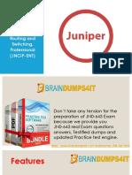 JN0-643 Braindumps