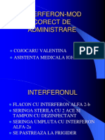 Interferonul-mod Ce Administrare