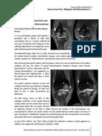 Knee Pain Case Study With Biotransducer Al Tubaikh 2014