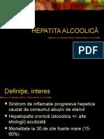 HEPATITA ALCOOLICA ACUTA
