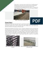Tie Bars vs Dowel Bars