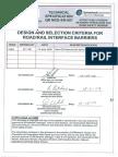 QRM Barrier Specification -Road Railinterface