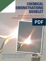 Chemical Demonstration Booklet 2016