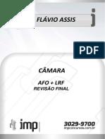 AULA DE REVISÃO FINAL DE AFO + LRF PARA CÂMARA