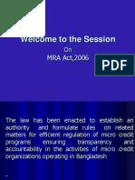 Mra Act,2006