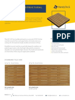 Structural Outdoor Wood Tiles