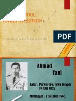 sejarah ahmad yani dan abdul haris nasution ppt