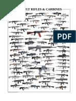 Infographic Assault Rifles & Carbines