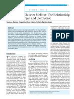 Pancreas and Diabetes Mellitus