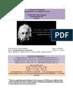 Sample Syllabus - PSAD